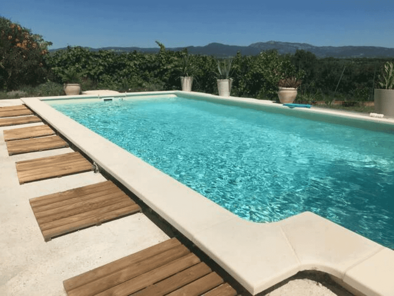 piscine du Gîte les Pousterles à Brignac - Hérault